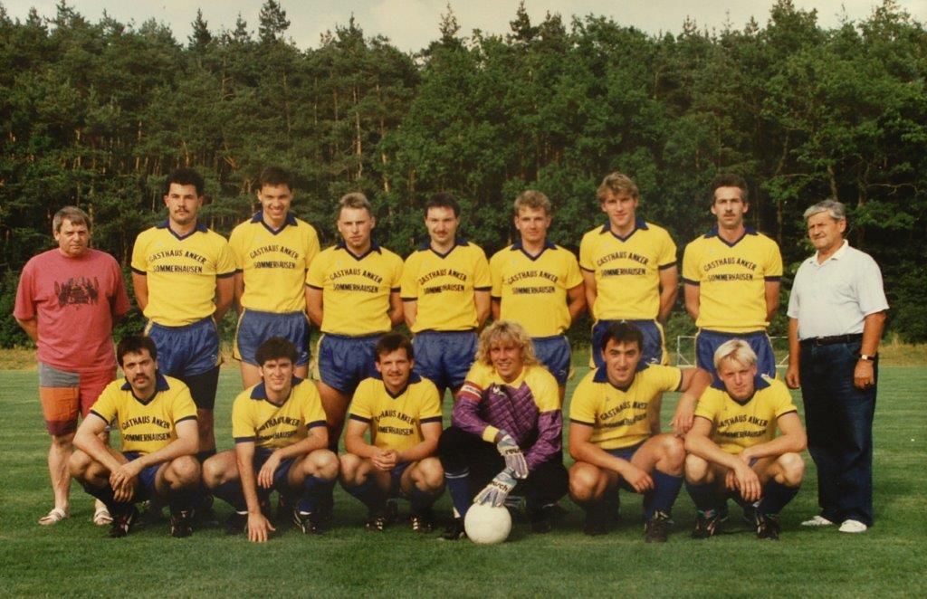 1991_TSG- 1. Mannschaft_Aug. 1991