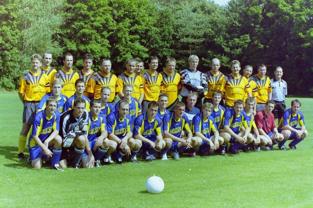 2005_TSG Meisterteam und aktuelles Team_17.07.2005